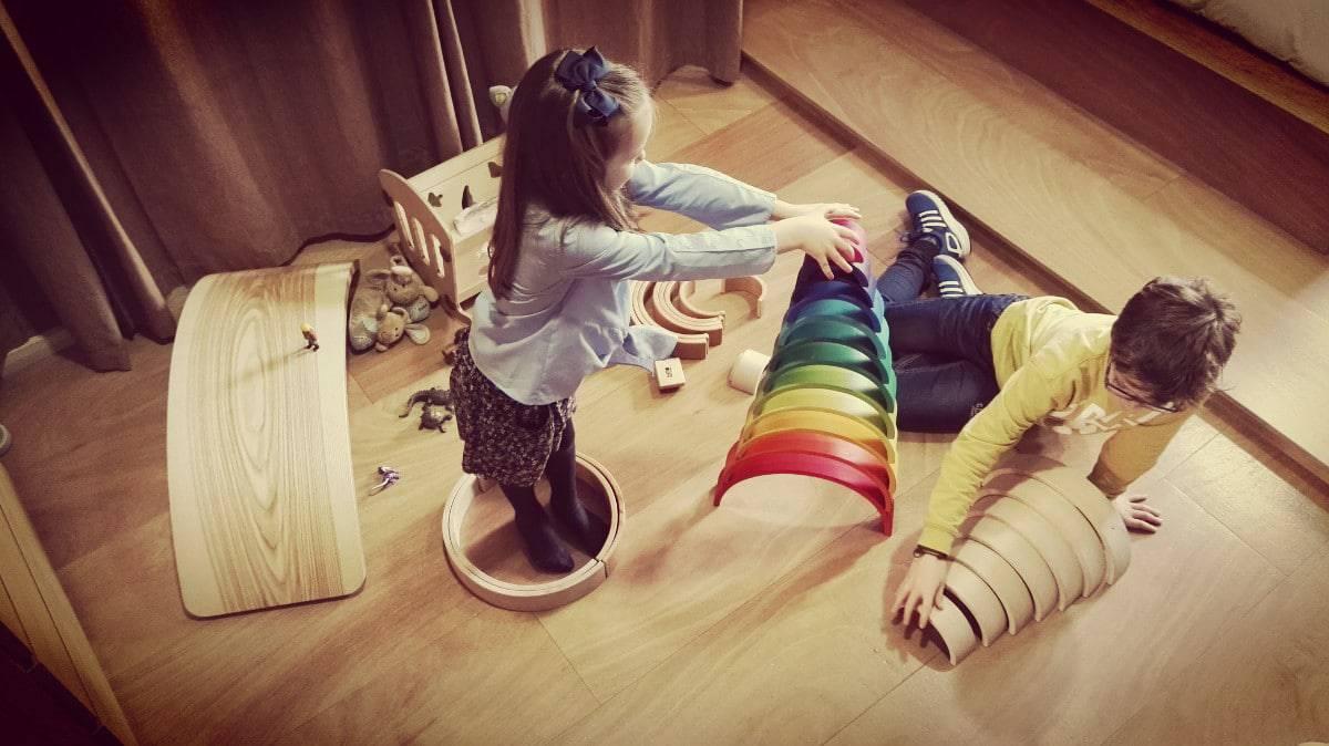 Juguetes de madera Habitar las Formas ISMO 34 - ¿Cómo hacemos los arcoiris Waldorf?