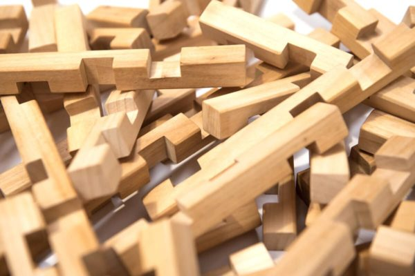 CEO Juego de bloques de madera
