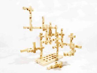 juego de bloques de madera
