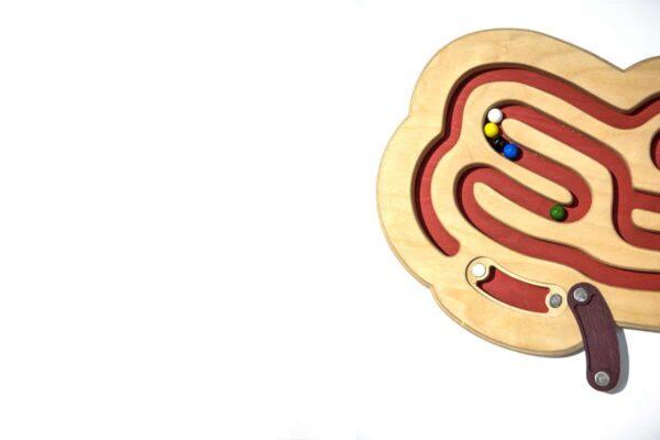ENTRERRUAS juguete laberinto de madera