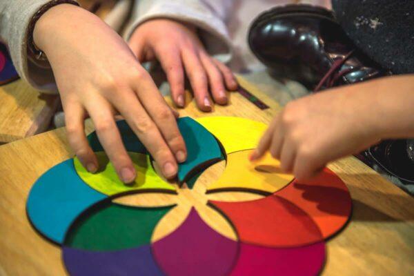 ESTRELA juego puzzle de madera