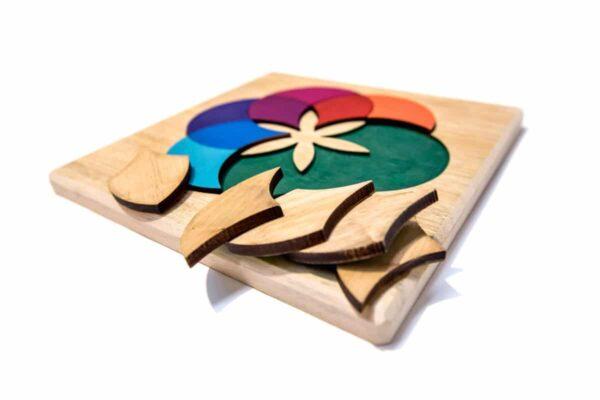 puzzles de madera para niños