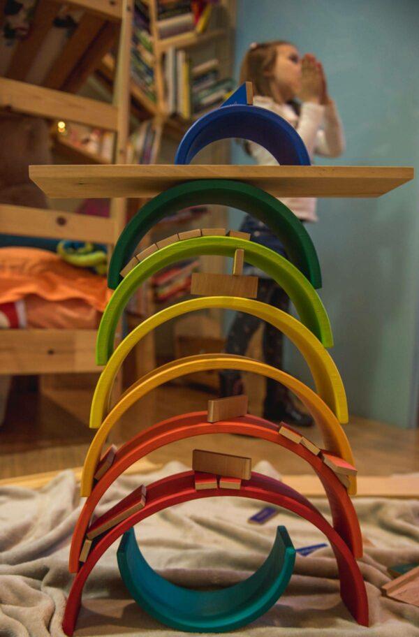 pedagogía Waldorf juguetes