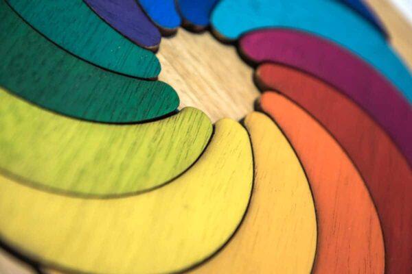 LUAS Puzzle de madera personalizado
