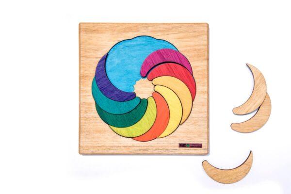 LUAS Puzzle de madera