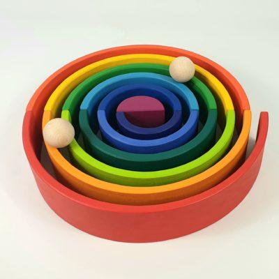 El Arco Iris Waldorf: el juguete más deseado