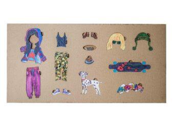 Mapoula callejero muñeca Waldorf
