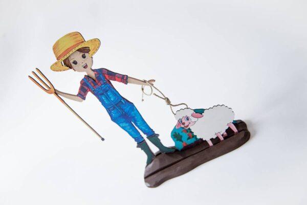 Mapoula muñeca Waldorf