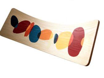 Wave la tabla curva con ilustracion
