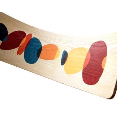 Nuestra Tabla Curva Montessori Wave