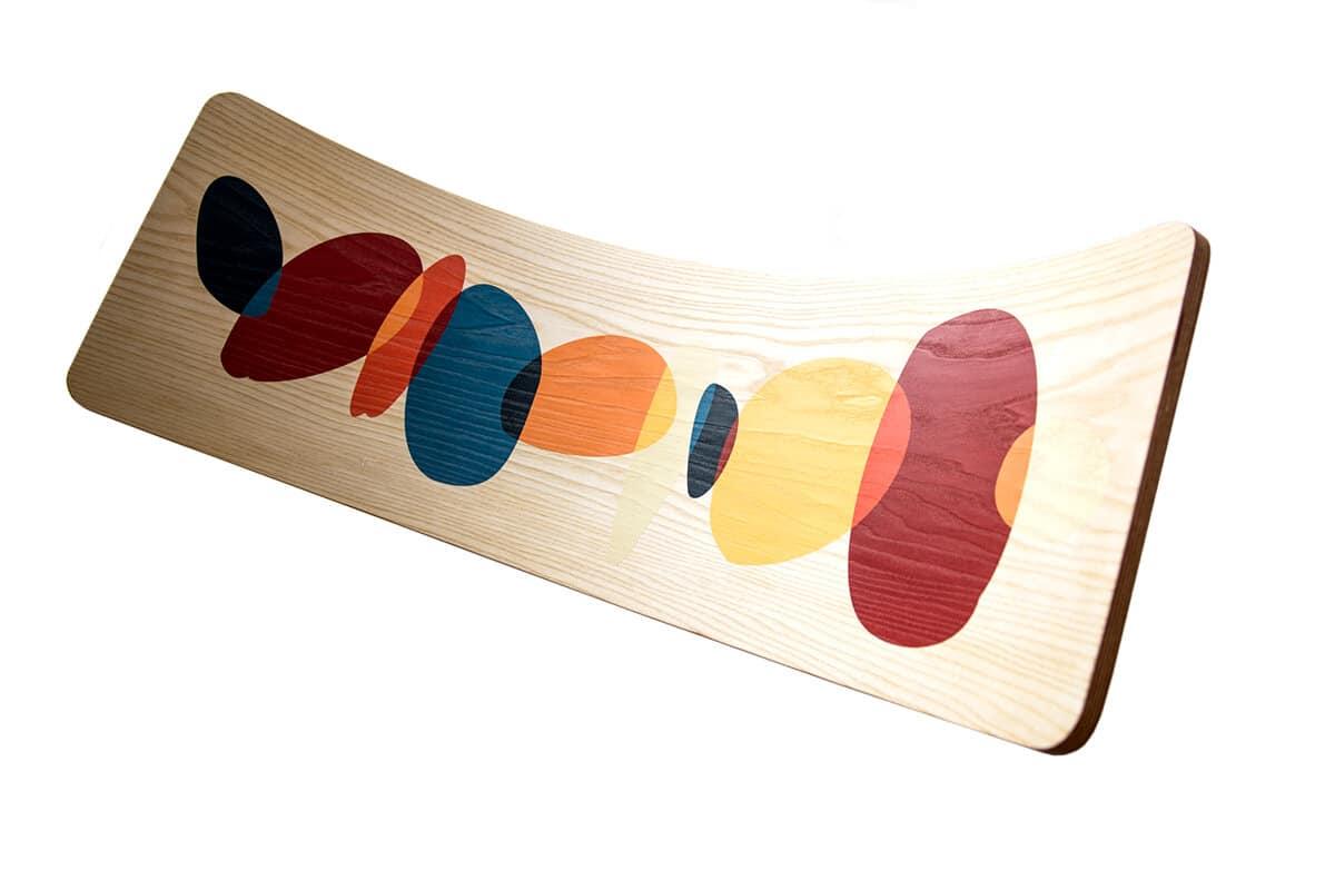 Wave la Tabla curva montessori con ilustración