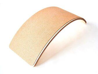 Tabla curva montessori de corcho