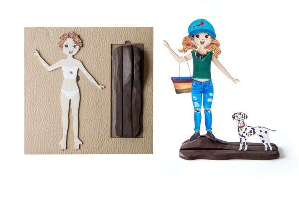 muñeca mariquita perez Mapoula y pack