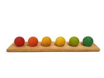 6 esferas waldorf