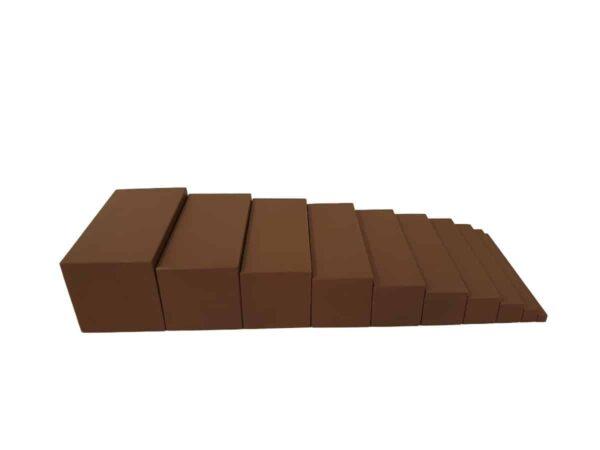 escalera de montessori - habitar las formas