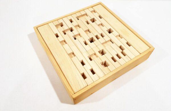 bloques de madera waldorf