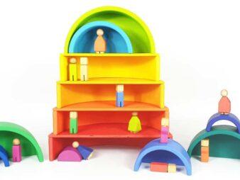 juguetes de colores para niños