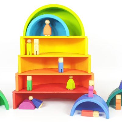 Nuestros juguetes de colores para niños