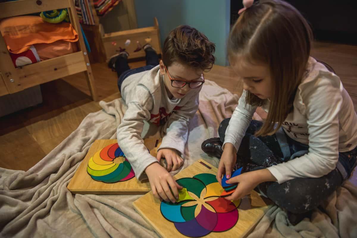 crear juguetes Waldorf o Montessori