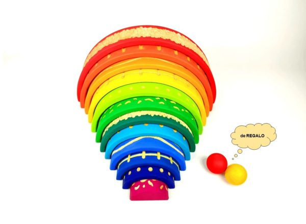 arcoiris waldorf sensorial