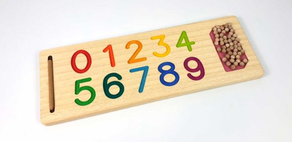 Tabla de números Montessori