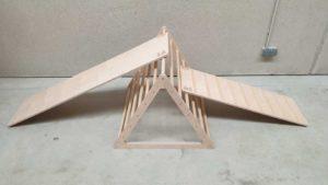 Triángulo Pikler fijo