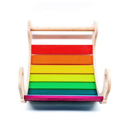 Juguetes Montessori: aprender con el balancín personalizado