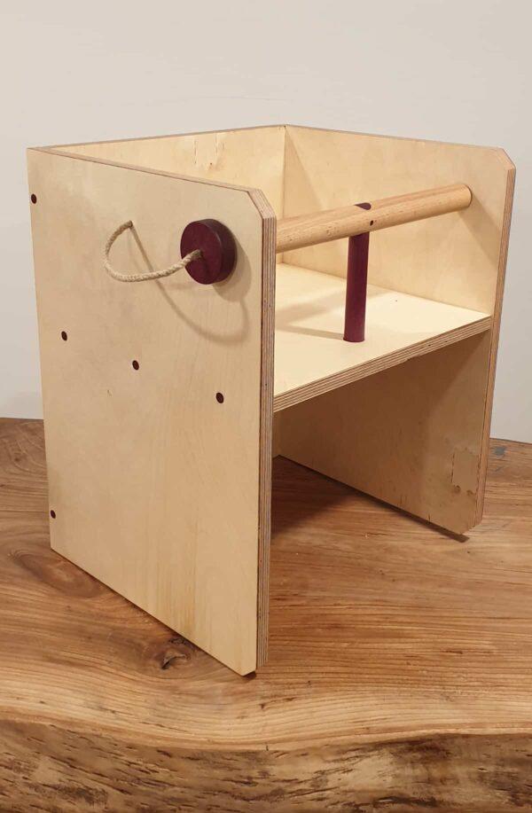 Silla cubo Montessori