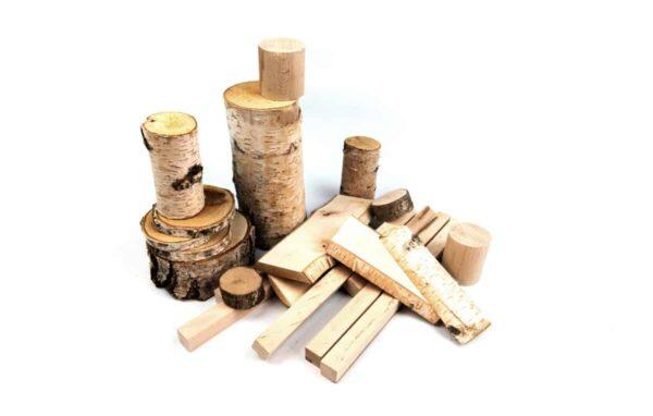 troncos de madera Waldorf